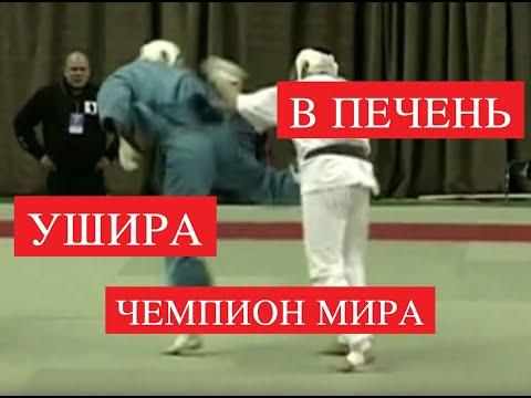 Техника удара Уширо-гери(Spinning Back Kick) от чемпиона мира по Кудо