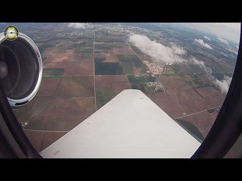 ROCKET-like Citation Sovereign takeoff from Wichita for TRANSATLANTIC service, Hahn Air! [AirClips]