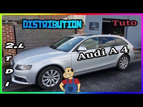 🛠Tuto🛠 Courroie de Distribution Audi A4 2l tdi 143cv  16 valves