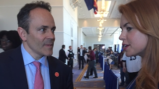 Interview with Gov. Matt Bevin- CPAC 2017   Right Side Broadcasting