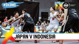 Japan v Indonesia | Full Game | FIBA 3x3 World Cup 2018