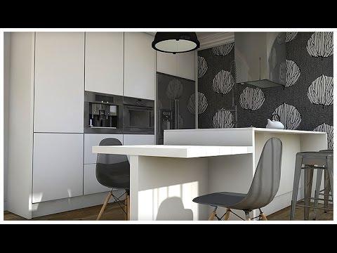 Dise o interior espacios di fanos un apartamento de 52 for Diseno de apartamento rectangular
