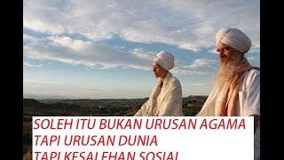 SOLEH ITU BUKAN URUSAN AGAMA TAPI URUSAN DUNIA #Tasawuf-tv buya syakur
