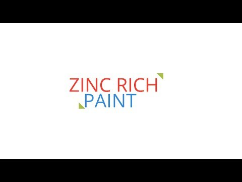 Zinc Rich Paint for Galvanized Steel Touch-Up or Repair