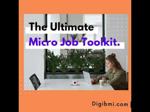 The Ultimate Micro Job Toolkit.