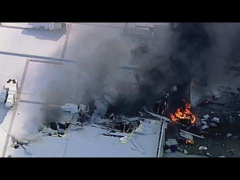 Five dead in Melbourne plane crash