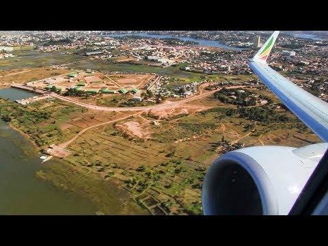 Ethiopian Airlines B737 Takeoff Madagascar