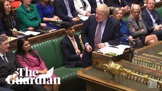 Boris Johnson under fire as he defends Priti Patel amid bullying claims