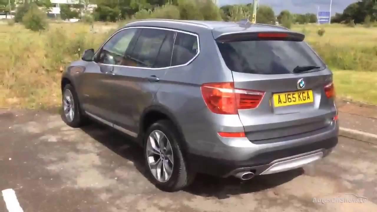 BMW X3 XDRIVE20D XLINE GREY 2016  I