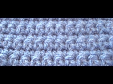 Crochet Stitches Uk Vs Us : Double Crochet Stitch (dc) U.K. by Crochet Hooks You - YouTube