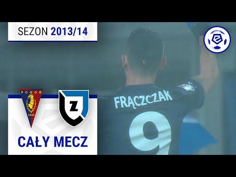 Pogoń Szczecin - Zawisza Bydgoszcz [1. połowa] sezon 2013/14 kolejka 18