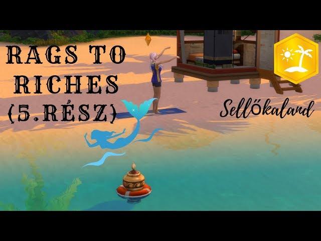 Sellőkaland (5.rész)🍋 Hurrá,megtaláltuk.. 🍋/Rags to Riches/Island Living/The sims 4