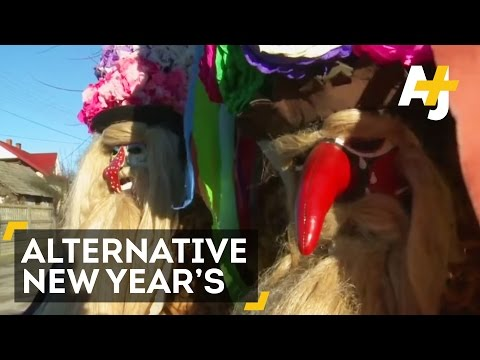 Strange New Year's Eve Celebrations From Around The World