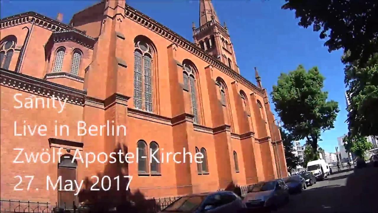 Live-Fan-Video Recording Zwölf-Apostel-Church