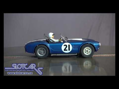 Carrera Slot Car Shelby Cobra #21 Slotcar 27434