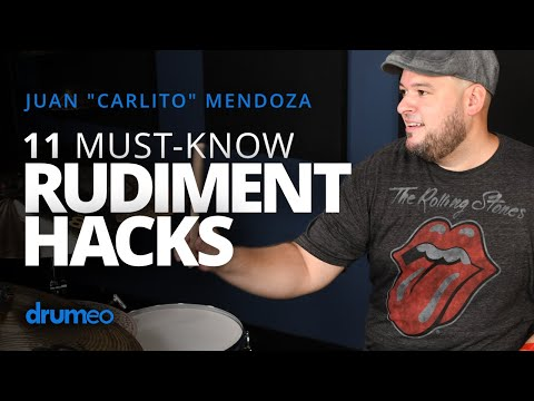 11 Ways To Be Creative With Any Drum Rudiment Juan