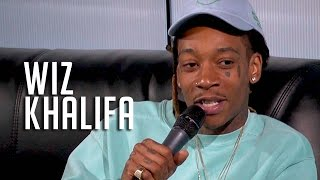 Wiz Khalifa on Bash Saying Bad Words, Amber Rose + Baby Mama Goals