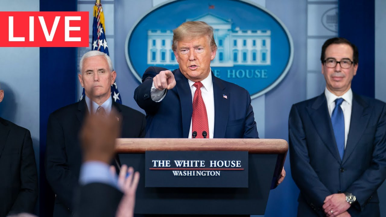 ? LIVE: President Trump URGENT Press Briefing from the White House