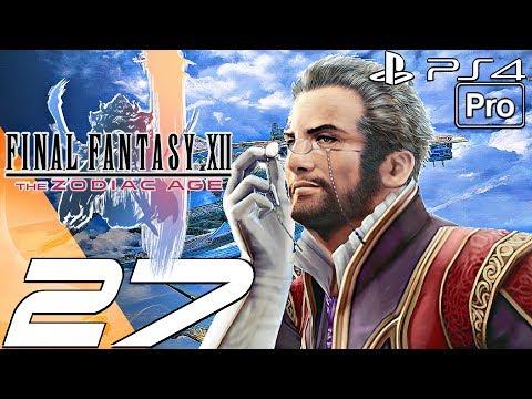 FINAL FANTASY XII Zodiac Age - Gameplay Walkthrough Part 27 - Draklor Laboratory & Port (PS4 PRO)