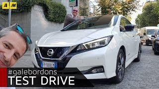 Nissan Leaf | Un'elettrica adulta e non più fumettosa