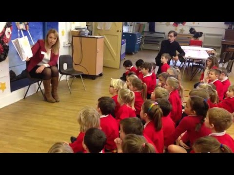 Storytelling day at a primary school