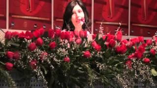 Giusy Ferreri Ti Porto a Cena con Me a Sanremo 2014 - Conferenza Video