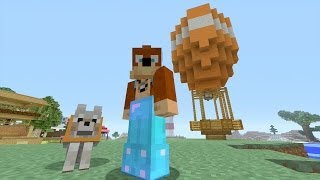 Minecraft Xbox - Hot Air Balloon  199