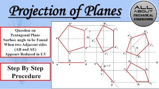 Download Pentagonal Plane (Side AB and AE Reduced in F.V)