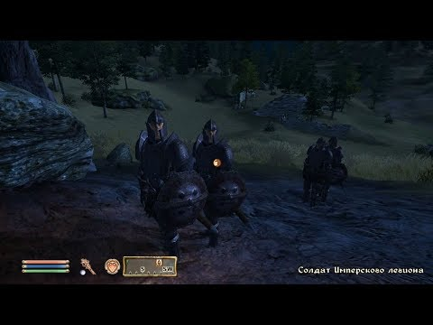 TES IV Oblivion #138 Атака на форт Сатч [2/2]