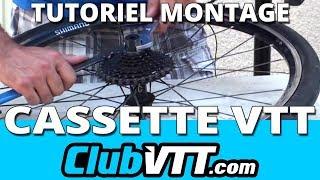 Cassette vtt et roue libre vtt - Démontage et entretien - 048