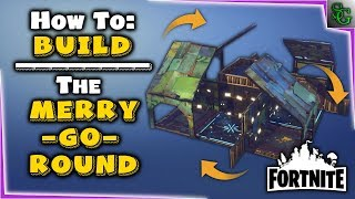 Fortnite - Build Design - How to Build the Merry Go Round