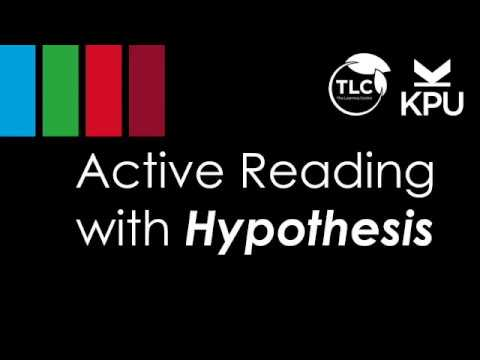 """Thumbnail for the embedded element """"Active Reading with Hypothes.is"""""""