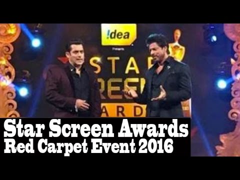Star Screen Awards Full Video HD Red Carpet Event 2016