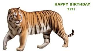 Titi  Animals & Animales - Happy Birthday