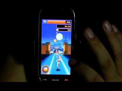 Danger Dash On Nokia C7 Belle, Nokia Running Game By GAMELOFT