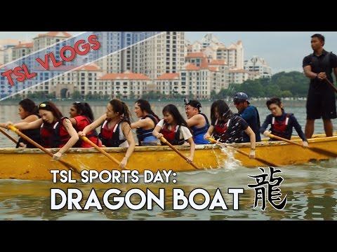 WE TRIED DRAGON BOATING!   TSL Vlogs