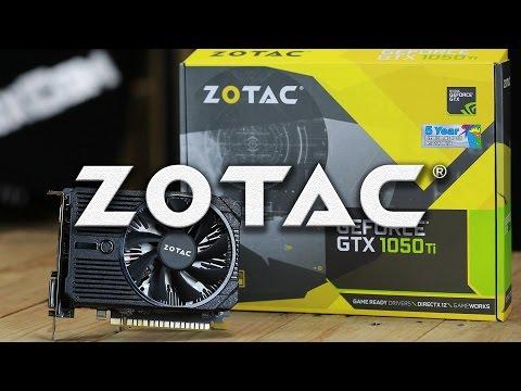 ZOTAC GeForce® GTX1050 Ti OC (พัดลมเดียว) + Intel Core i3 6100 รีวิว by ThxCom