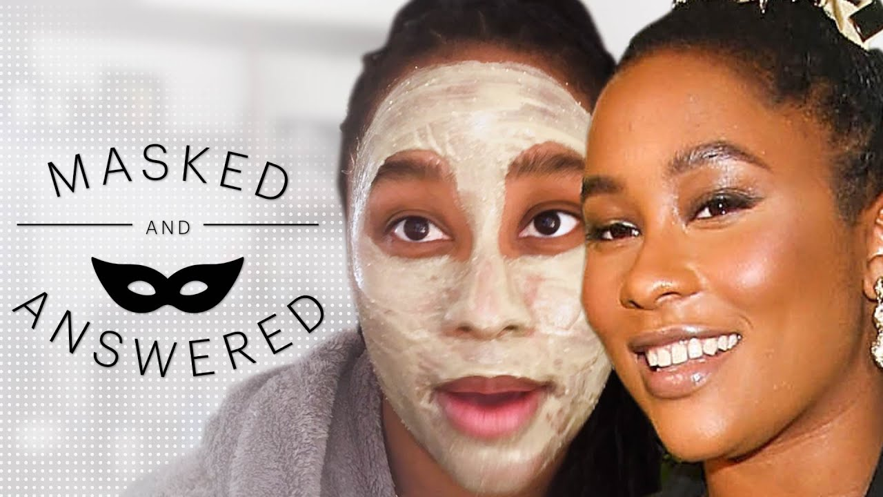 Zuri Marley's Favorite Customizable Face Mask | Masked And Answered | Marie Claire