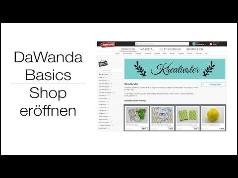 Shop eröffnen   DaWanda-Basics