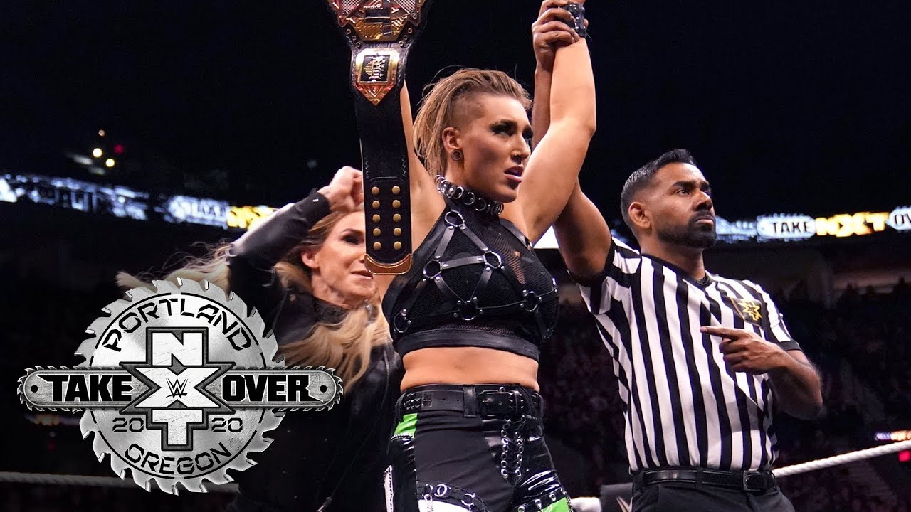 Image result for takeover portland rhea ripley
