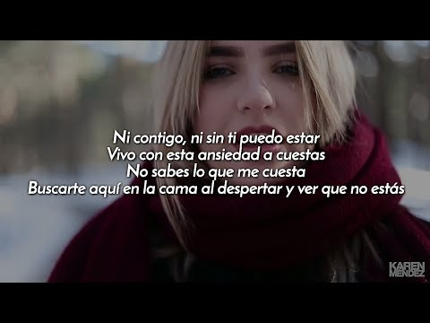 Karen Mendez - Culpable (Cover Sharif y Natos) (Letra)