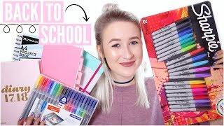 HUGE Back To School Supplies Haul 2017 + GIVEAWAY! AD