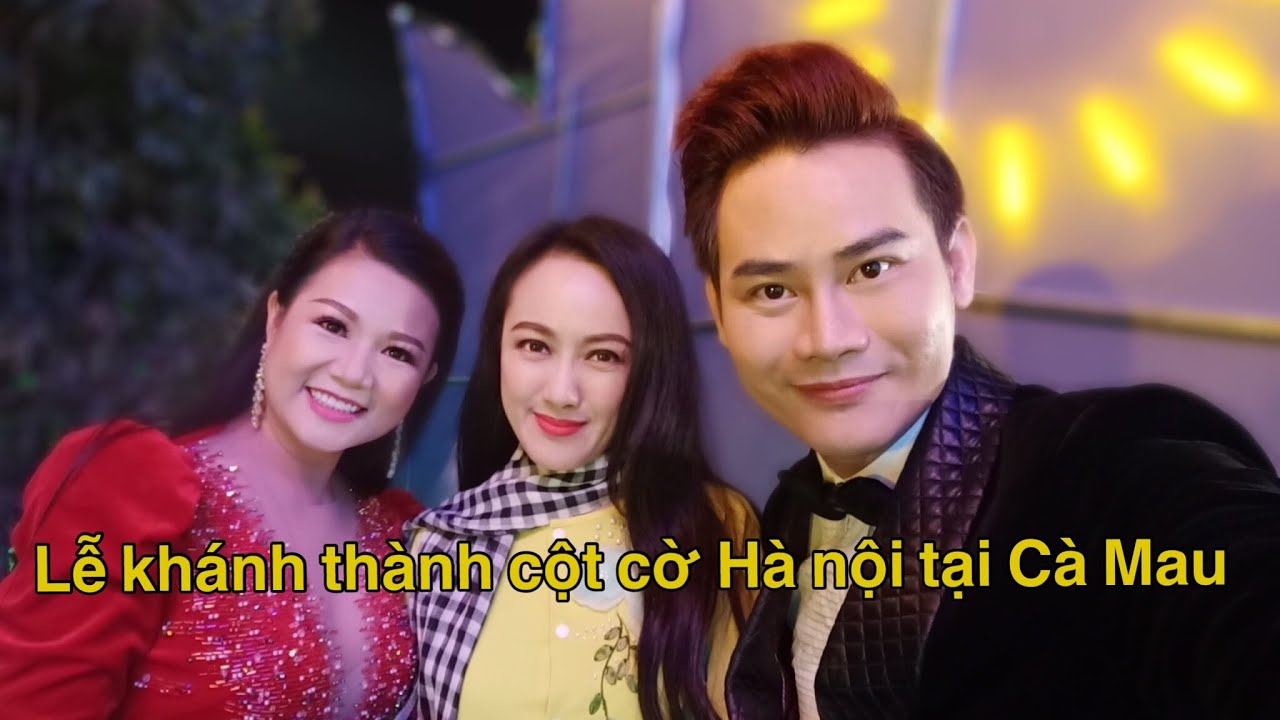 Lễ Khánh thành cột cờ Hà nội tại Mũi Cà Mau 10/12/2019 | MC Dương Hồng Phúc