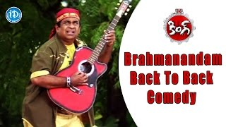 Brahmanandam Back To Back Comedy Scenes  - King Movie | Nagarjuna, Trisha, Srihari | Srinu Vaitla