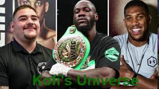 Deontay Wilder: Andy Ruiz is a bigger fight for me than Anthony Joshua