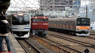 2020/02/26 内房線 E217系 Y-31編成 蘇我駅 | JR East Uchibo Line: E217 Series Y-31 Set at Soga