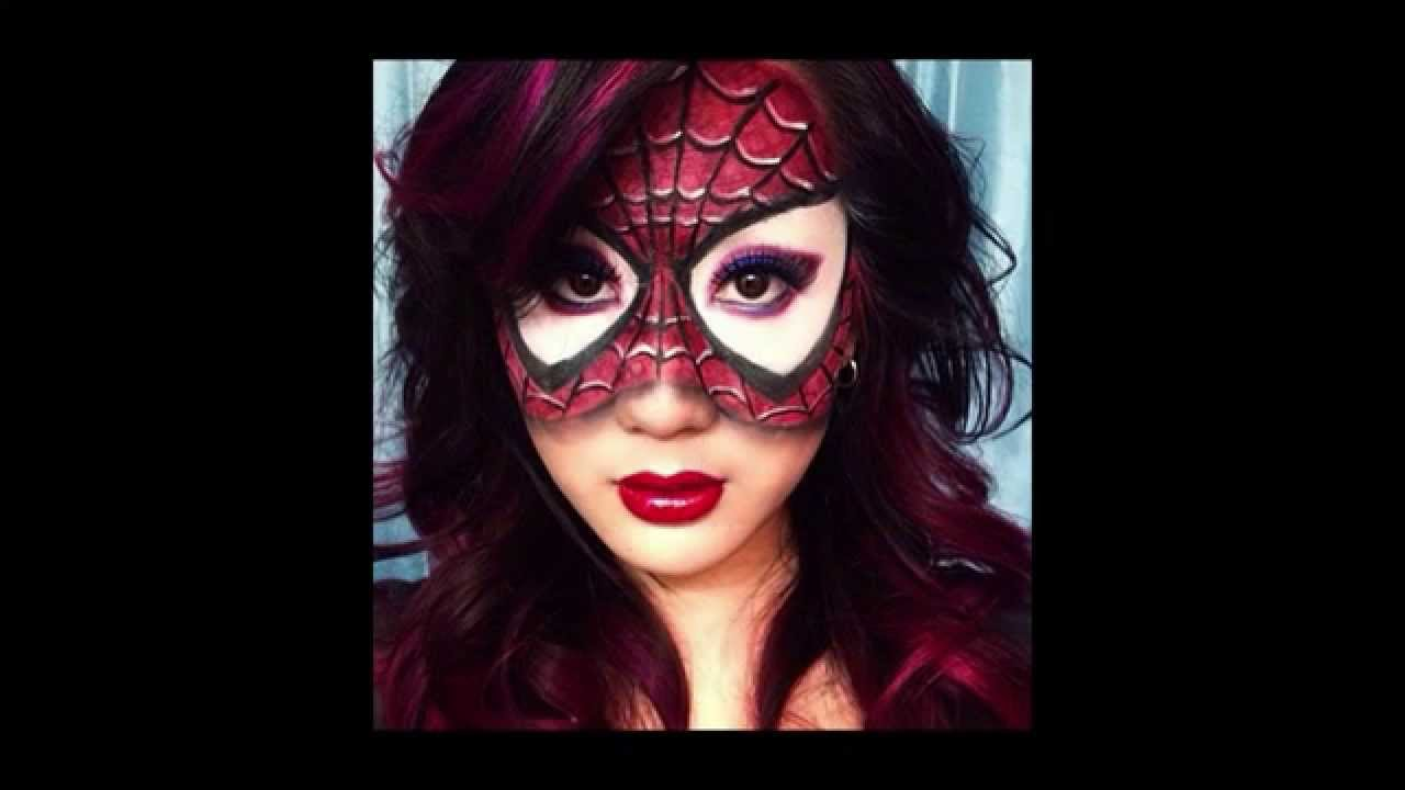 30 Pictures of Girls Wearing Awesome Halloween Makeup - YouTube