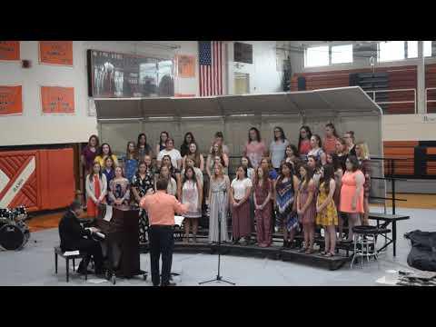 Upper Sandusky high school women choir