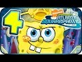 SpongeBob Atlantis SquarePantis Walkthrough Part 4 (PS2, Wii) ☼ Level 4 ☼