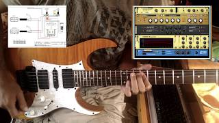 Best wiring for Ibanez or any guitar with two humbuckers and 5 way switch